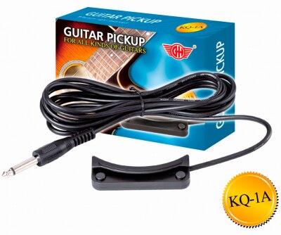 Звукосниматель (пьезодатчик) для гитары и укулеле GH KQ-1A цены