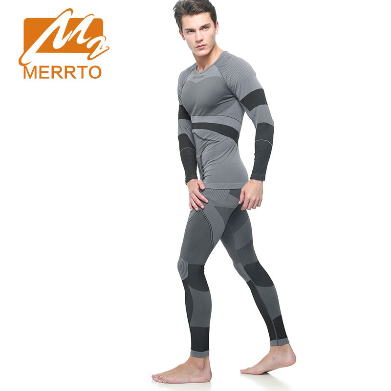 MERRTO Men Sport Suits Quick Dry Basketball Soccer Training Tracksuits Fitness Gym Clothing Running Sets Survetement Homme