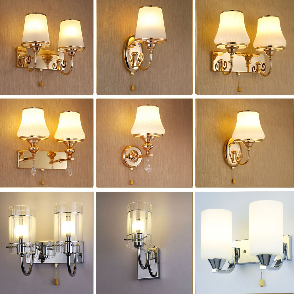 Hghomeart indoor lighting reading lamps wall mounted led for Wall light fixtures bedroom