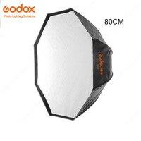 Godox Ombrello 80 CM Portatile Octagon 80 cm/31.5in Ombrello Softbox luce del Flash Softbox per Studio Foto Speedlight