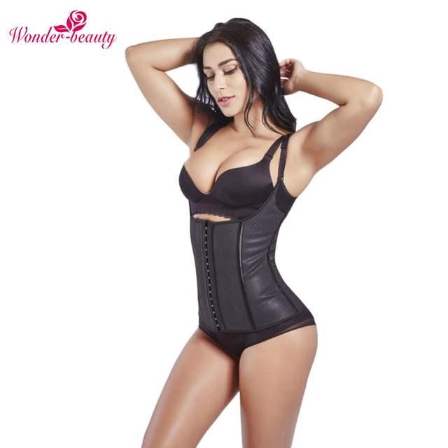 b095afebd4 placeholder Wonder-Beauty Waist Trainer Body Shaper Women Latex Corset  Slimming Binder Trans Bodysuit Shapewear Underbust