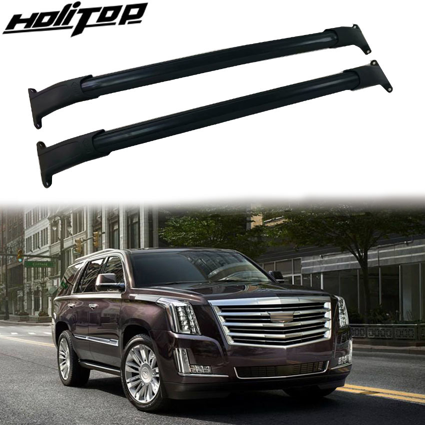 2019 Cadillac Escalade: Hottest Roof Rack Rail Luggage Bar Cross Bar Match For