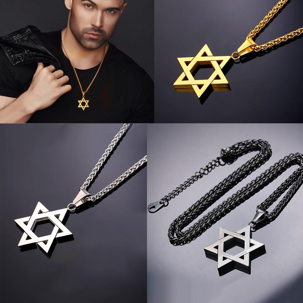תליון זהב מגן דוד