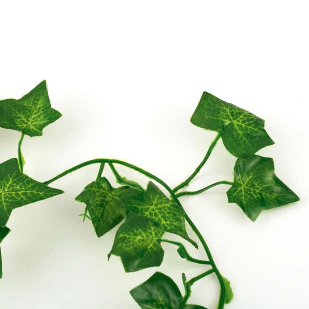 2 m artificiel lierre feuillage feuille fleurs maison plantes guirlande jardin Festival décoration Evergreen Cirrus