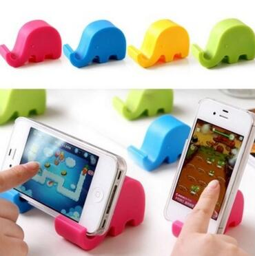 Kawaii Gift Elephant Phone Stand for iPhone Samsung iPad LG HTC XIAOMI huawei Cell Phone Accessories Holder
