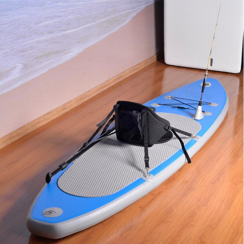 Hot vente bateau de pêche surf ski nautique PVC + EVA + tréfilage coussin matériau 315 cm gonflable bateaux