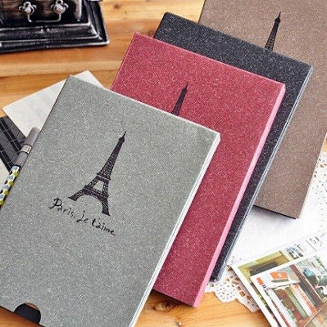 16 páginas álbum de fotos de bricolaje 8 pulgadas Torre Eiffel ...