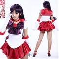 Red Sailor Moon Sailor Mars Cosplay Costume from Sailor Moon Anime For Christmas Plus Size (S-6XL)