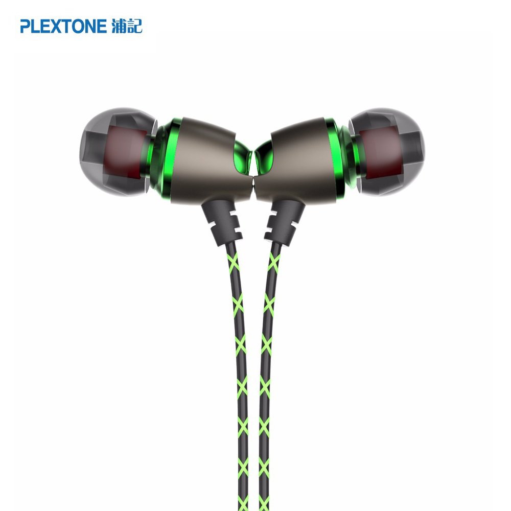 PLEXTONE X50M Magnetic Sport Earphone Fone De Ouvido Stereo Bass Noise Cancelling 3.5mm Headset with Mic for huawei xiaomi meizu professional earphone metal heavy bass music earpiece for highscreen power ice evo ice max headset fone de ouvido with mic