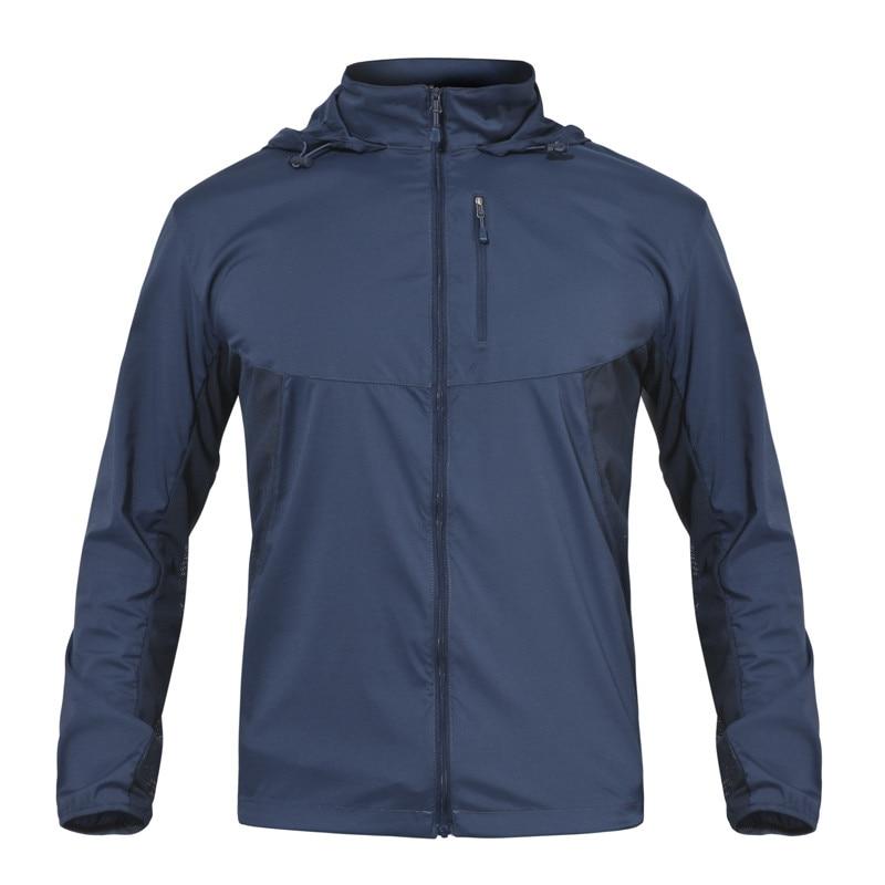 Nouvelle veste de pêche d'été pour hommes en plein air imperméable à l'eau à séchage rapide manteaux respirant randonnée vestes de pluie mince coupe-vent vestes