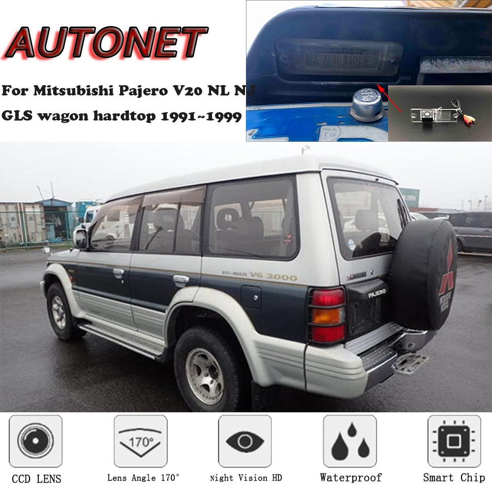 AUTONET Backup Rear View Camera For Mitsubishi Pajero V20 NL NJ GLS Wagon Hardtop 1991~1999 CCD/Night Vision/parking Camera