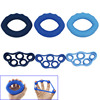 6 Pcs Set Muscle Power Training Silicone Grip Ring Exerciser Strength Fitness Finger Hands Grips Shop