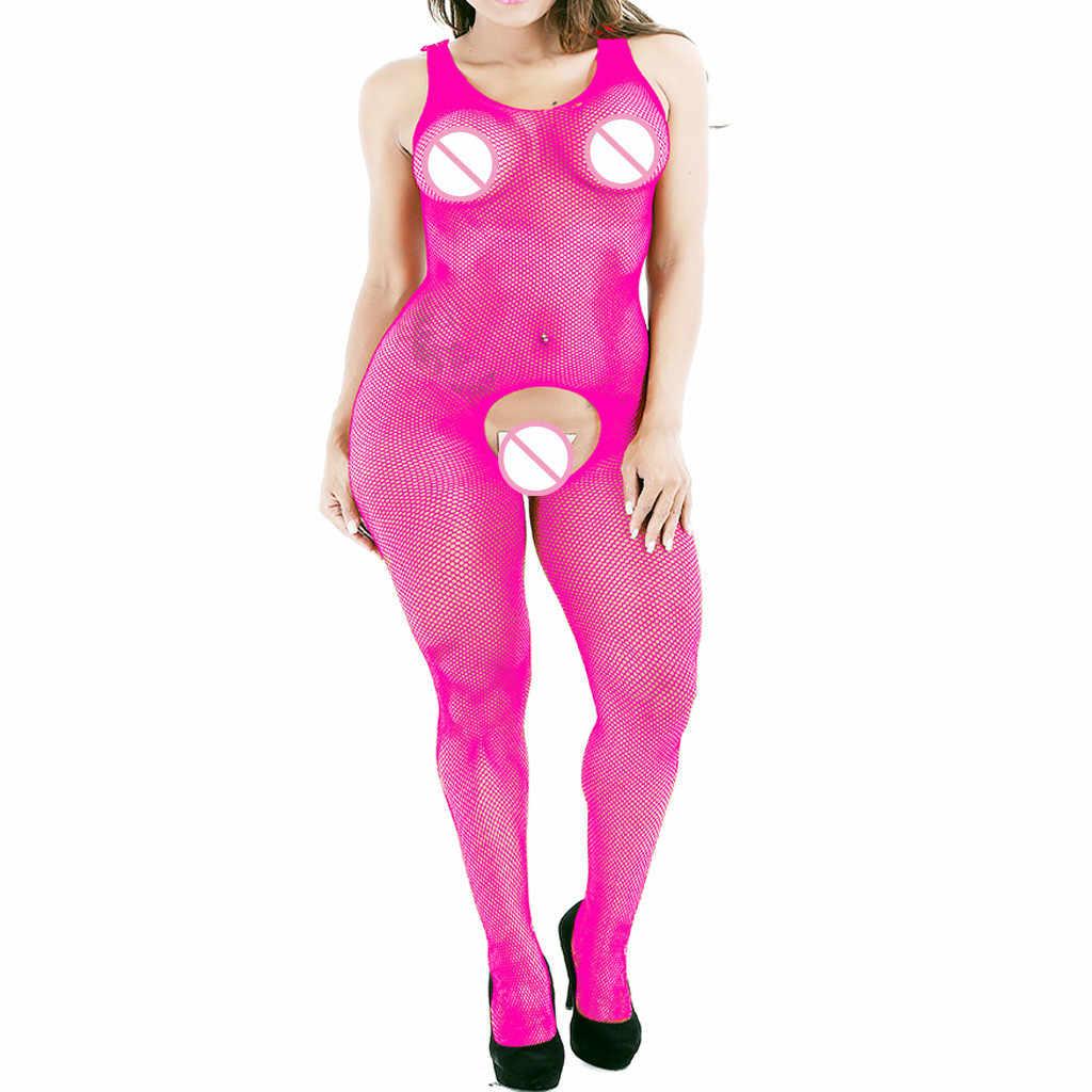 Свободный страусиный сексуальный женский комбинезон шелковые чулки Клубная одежда обтягивающий костюм сексуальное нижнее белье очаровательное плюс белье сексуальное ночное белье