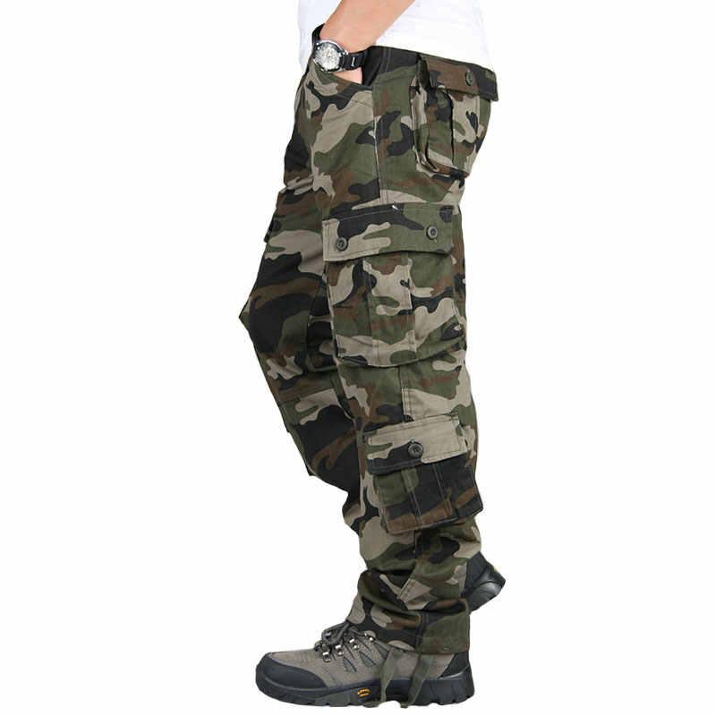 Pantalones Militares De Camuflaje Swat Para Hombre Pantalon De Combate Soldado Del Ejercito Informal Holgado Cargo Con Muchos Bolsillos Cargo Trousers Trousers Maleswat Pants Aliexpress