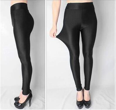 Nueva Faux Leather Leggings Moda Sexy Cintura alta Material del - Ropa de mujer - foto 4