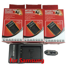 SLB-0737 Digital digicam Battery charger SLB0737  For SAMSUNG NP-40 D-Li8 KLIC-7005 NV10 NV8 L201 NV20