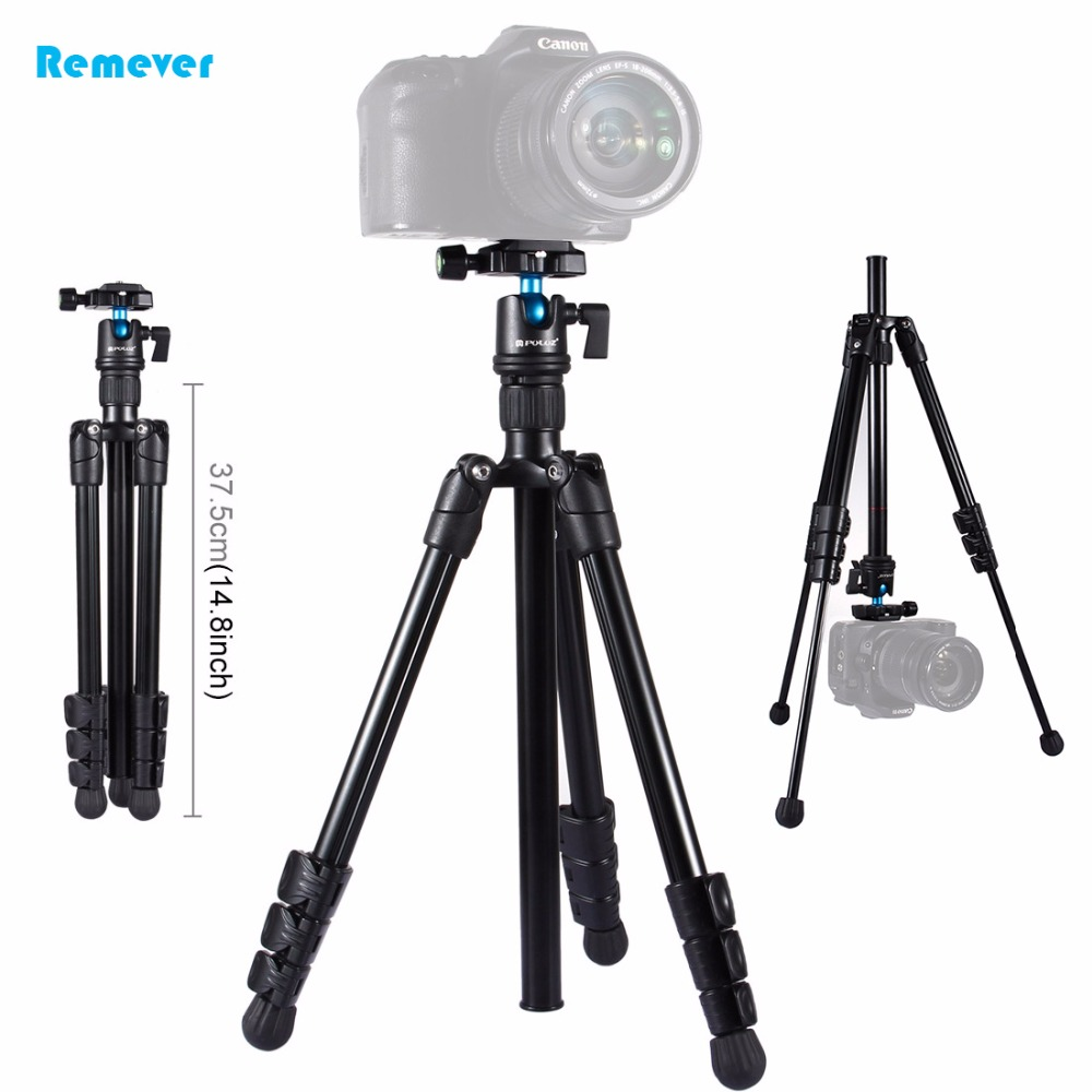 где купить Professional Aluminum Travel Tripod with Ball Head Stabilizer Fill Light for Digital SLR NIKON CANON Camera iPhone Smartphones по лучшей цене