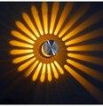Iluminação Casa moderna Arandela Levou Alumínio 90 ~ 260 v 3 w Diâmetro 60*70mm Levou Quarto lâmpadas de Alta Qualidade