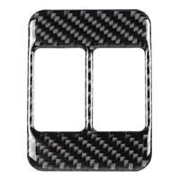 Karbon Fiber Oto Aksesuarları Koltuk Isıtma Düğmesi Dekoratif krom çerçeve için Subaru BRZ Toyota 86 Araba Iç Tamir Şekillendirici Otomotiv İçi Çıkartmaları    -