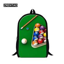 Snooker Brand Canvas Men Women BTS Backpack College High Middle School Bags For Teenager Boy Girls Shoulder Travel Book Bag Gift(China)