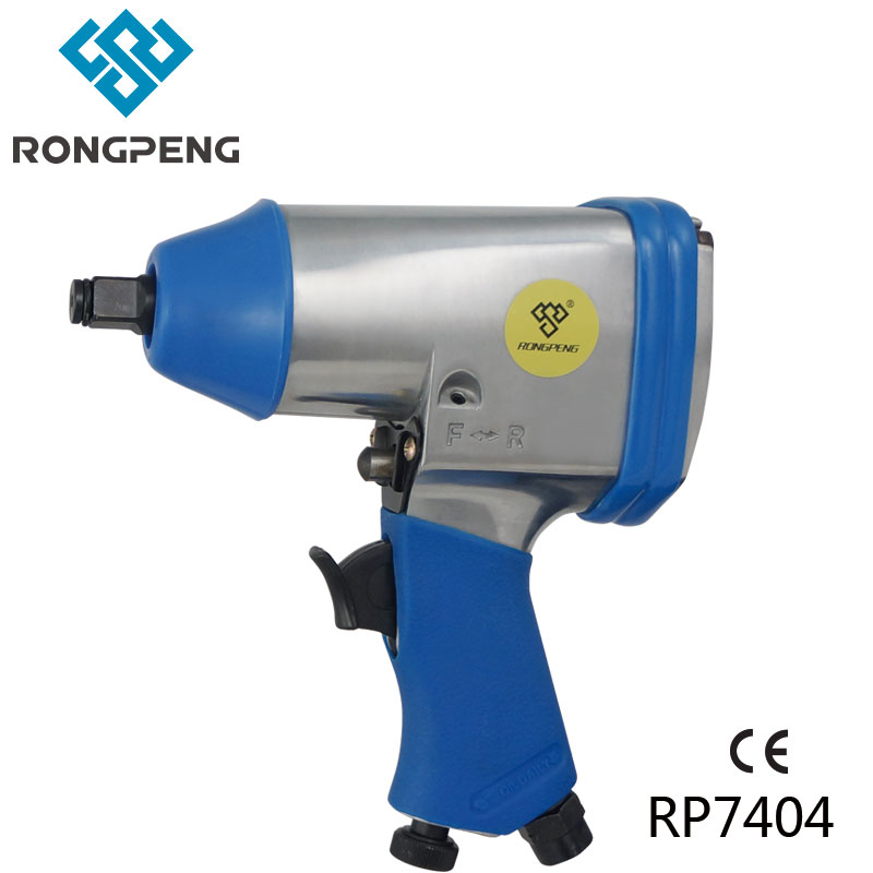 """Rongpeng Llave de impacto neumática de 1/2 """"RP7404 Kits de herramientas de aire de 310N.m Tomas de impacto de 1/2 pulgada Reparación de automóviles de 3/8"""" -1 """"Mantenimiento automotriz"""