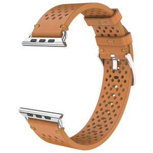 Image 5 - Hoco cavaleiro pulseira de couro genuíno 20mm 22mm para apple assistir série 4/3/2 pulseira para iwatch 40/44/38/42