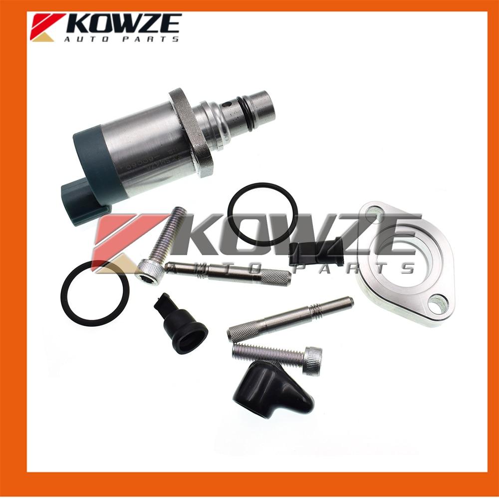 Fuel Pump Suction Control Valve Kit 1460A056 For Mitsubishi PAJERO MONTERO SPORT L200 TRITON STRADA 2.5D 4D56 3.2D 4M41 цена