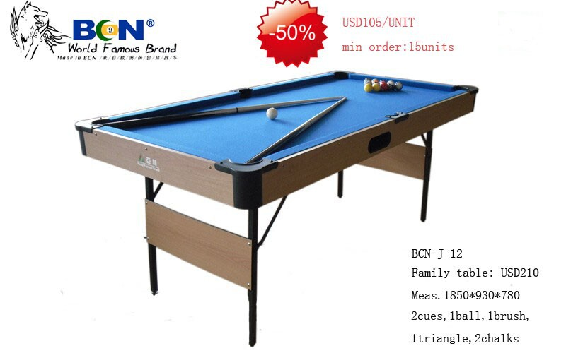 Family Table For Children, Promotional Tables, Mini Pool Table, Ball Return  System Tables In Snooker U0026 Billiard Tables From Sports U0026 Entertainment On  ...