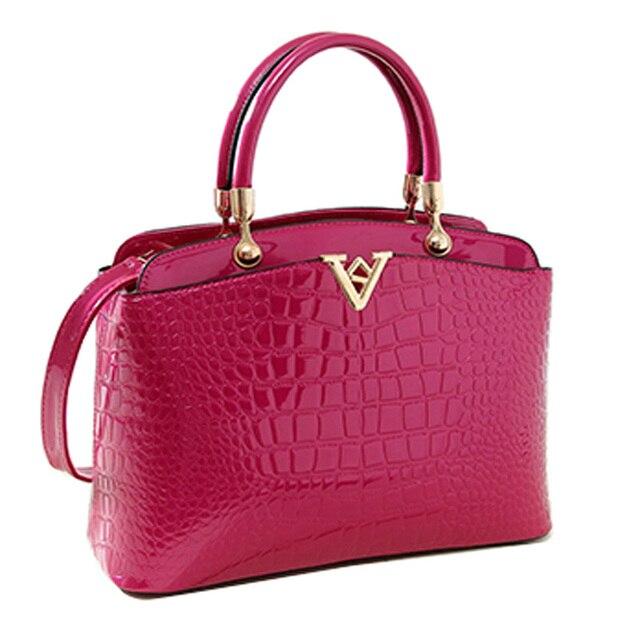 2016 New Fashion High Quality PU Leather Women Handbags Famous Brand Crossbody Ladies Bag Designer Hot Sale Shell Totes Bags