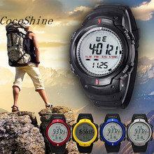 Cocoshine A-923  Waterproof Outdoor Mountaineering Sports Men Digital LED Quartz Wrist Watch wholesale