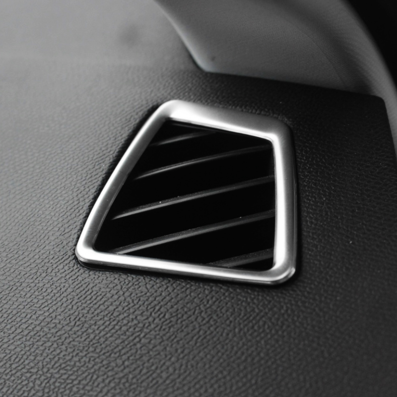 For <font><b>Peugeot</b></font> <font><b>308</b></font> T9 <font><b>SW</b></font> <font><b>2015</b></font> 2016 ABS Matte Car front Small air outlet Decoration Cover trim Car styling Accessories 2pcs image
