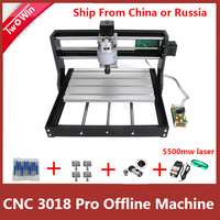 CNC 3018 Pro with offline controller GRBL control Diy mini cnc machine,3 Axis pcb Milling machine,Wood Router laser engraving