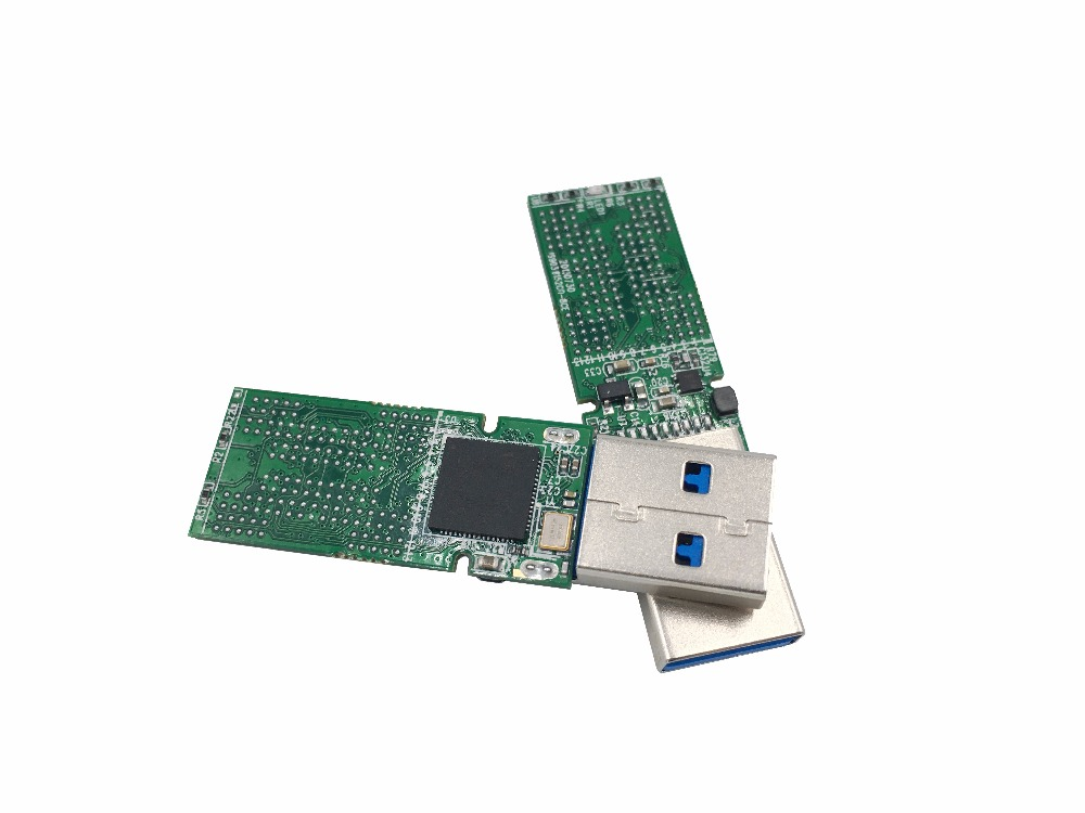 US $9 2 |USB3 0 BGA152 NAND flash U disk PCB IS903 main controller without  flash memory for recycle SSD flash chips BGA152/132/136-in Integrated