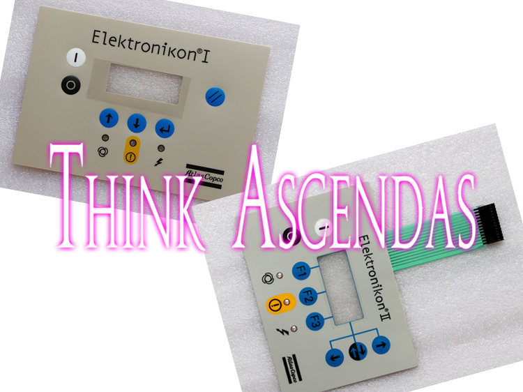1pcs New ATLAS COPCO ELEKTRONIKON I / ATLAS COPCO ELEKTRONIKON II Membrane Keypad atlas 72ач mf90d26r пр