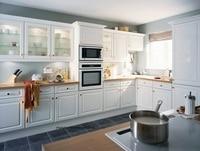 PVC/vinyl kitchen cabinet(LH PV073)