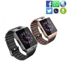 DZ09 Smart Watch android Bluetooth smartwatch wearable devices watches men Smart Clock watch phone vs Smart watch a1 kw88 gt08