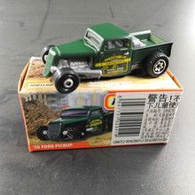 2019 Matchbox Car 1:64 Sports Car 35 FORD PICKUP Metal Material Body Race Car Collection Alloy Car Gift
