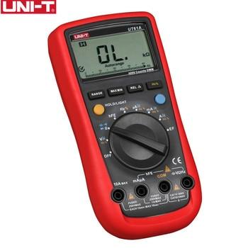 UNI T דיגיטלי מודד UT61A/UT61B/UT61C/UT61D/UT61E Multitester אמיתי rms AC DC Meter תוכנת תקליטור & נתונים להחזיק-במולטימטר מתוך כלים באתר