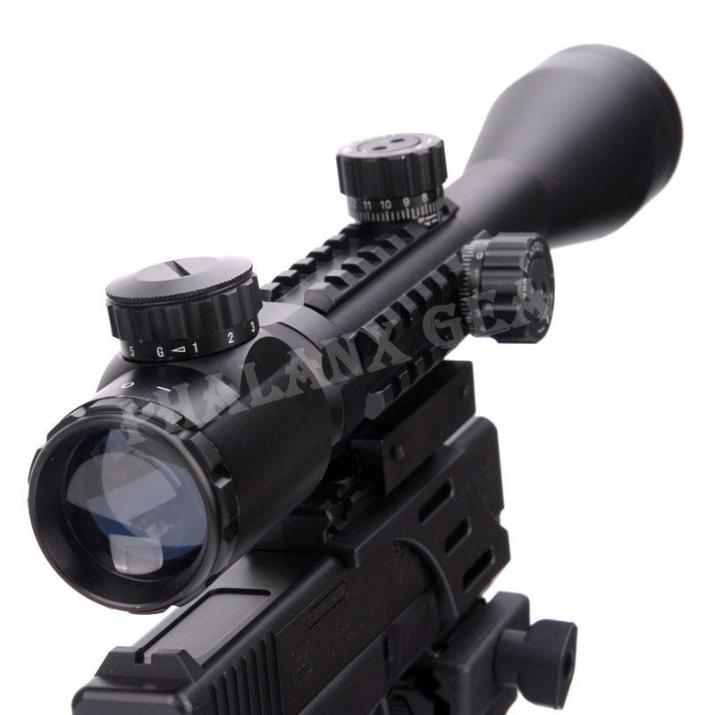 3-9x40EG Night Vision Scopes Air Rifle Gun Riflescope Outdoor Hunting Telescope Sight High Reflex Dovetail Rail 11mm To 20mm