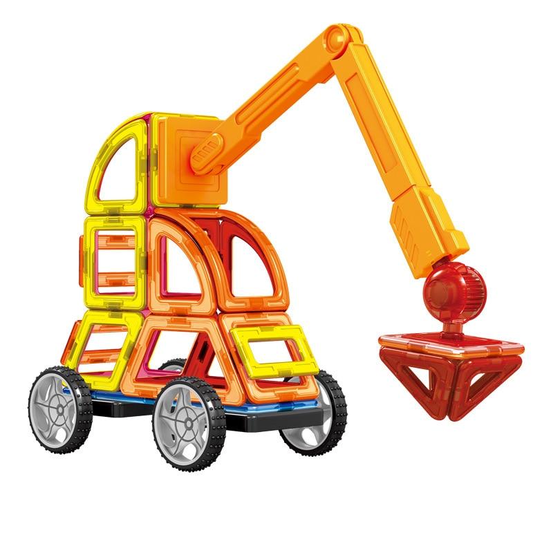Mini 60Pcs / Lot Magnetic Designer Construction Set Model & Building - Կառուցողական խաղեր - Լուսանկար 4