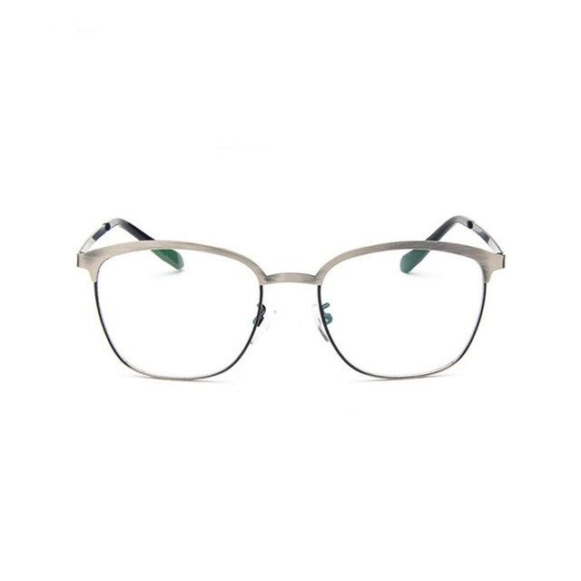 b3c95d9bbcc Square Metal Eyeglasses Computer Glasses Frame Women Men Thin Optics  Prescription Spectacle student Frames game eyewear