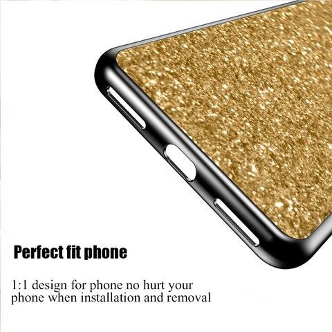 Case for Xiaomi Redmi 6A 5A 4A 4X Note 4 4x S2 cover case for xiaomi redmi 5 Plus Pocophone F1 Mi 8 Lite Glitter Phone cases Multan