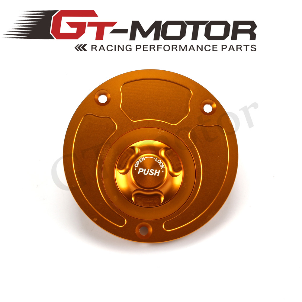 GT Motor - Motorcycle CNC Aluminum Fuel Gas CAPS Tank Cap tanks Cover With Rapid Locking For YAMAHA YZF1000 YPVS-F2 RD350 RZ350 mp022 universal diy motorcycle decorative fuel tank cap cover golden 2 pcs