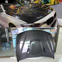 F30 M3 M4 Style Carbon fiber FRP Primer engine hood cover bonnet hoods for BMW F30 F35 F32 M3 style 2014UP
