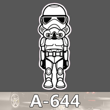 A 644 Star Wars Waterproof Cool DIY Stickers For Laptop font b Luggage b font Fridge