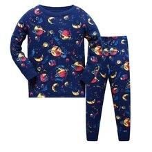 Детские пижамные комплекты; Одежда для мальчиков с героями мультфильмов; детские пижамы; пижама из хлопка; детская одежда