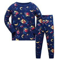 Children Pajama Sets Cartoon Boys Outfits Baby Pijamas SleepwearCotton Pyjamas Clothing