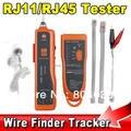 UTP STP RJ45 RJ11 Cat5 Cat6 LAN Кабель Тестер finder Ручной Сети Ethernet Провода Телефонной Линии Детектор Tracker Tool kit