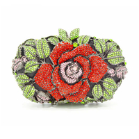Luxury Top Quality Crystal XIYUAN Evening Clutches Bags For Women Dinner Party High End Handmade Female Clutches Bags Wedding