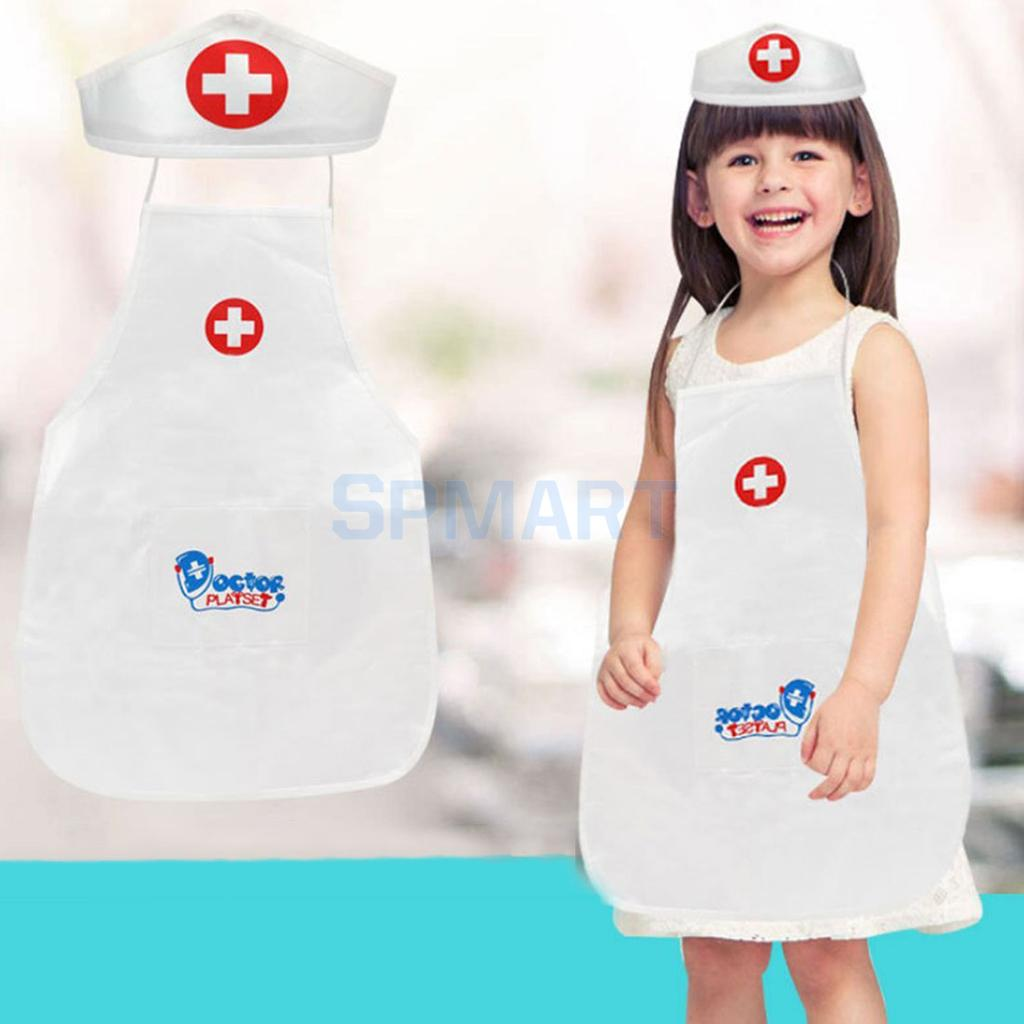 New Fleta Doll Cosplay Doctor Clothes For 18-inch Or 43-cm American Doll Accessories Toys For Kids By Scientific Process Dolls & Stuffed Toys Toys & Hobbies